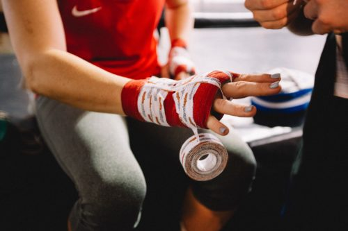 How to Wrap Hands for Kickboxing