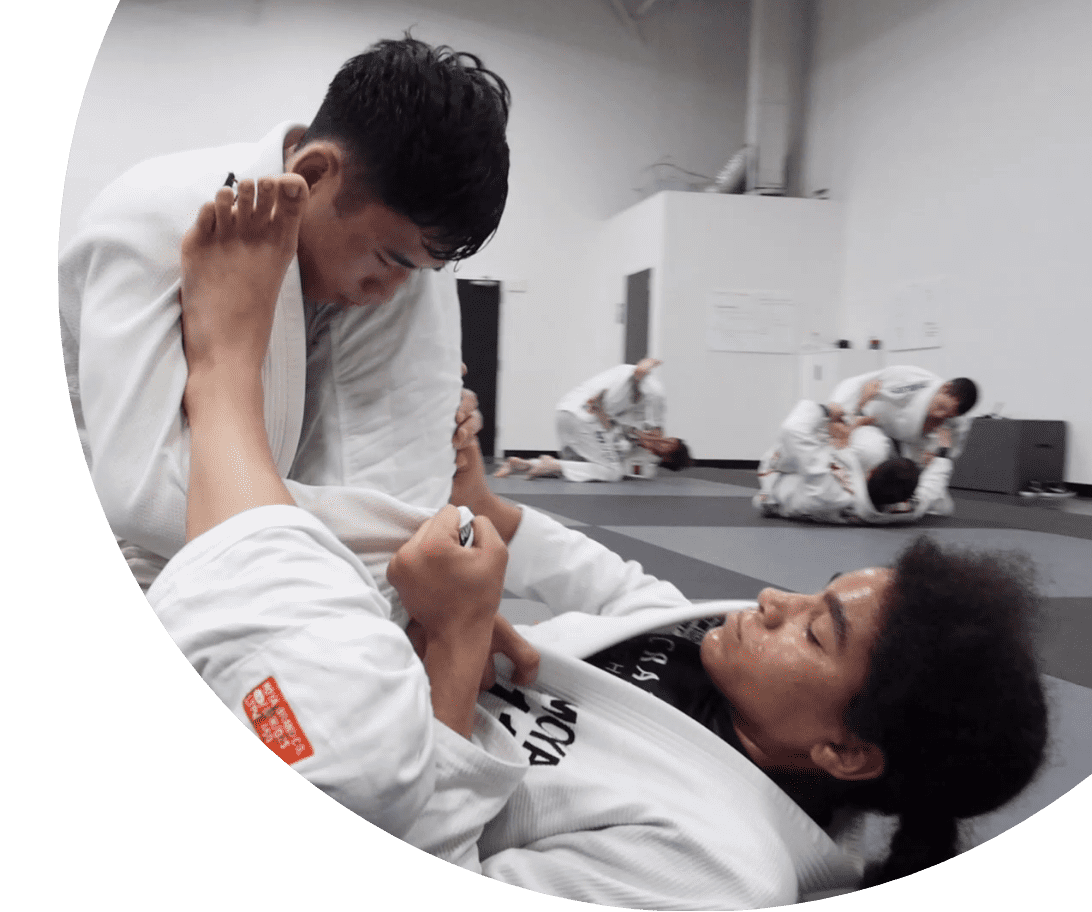 Training at Crazy 88